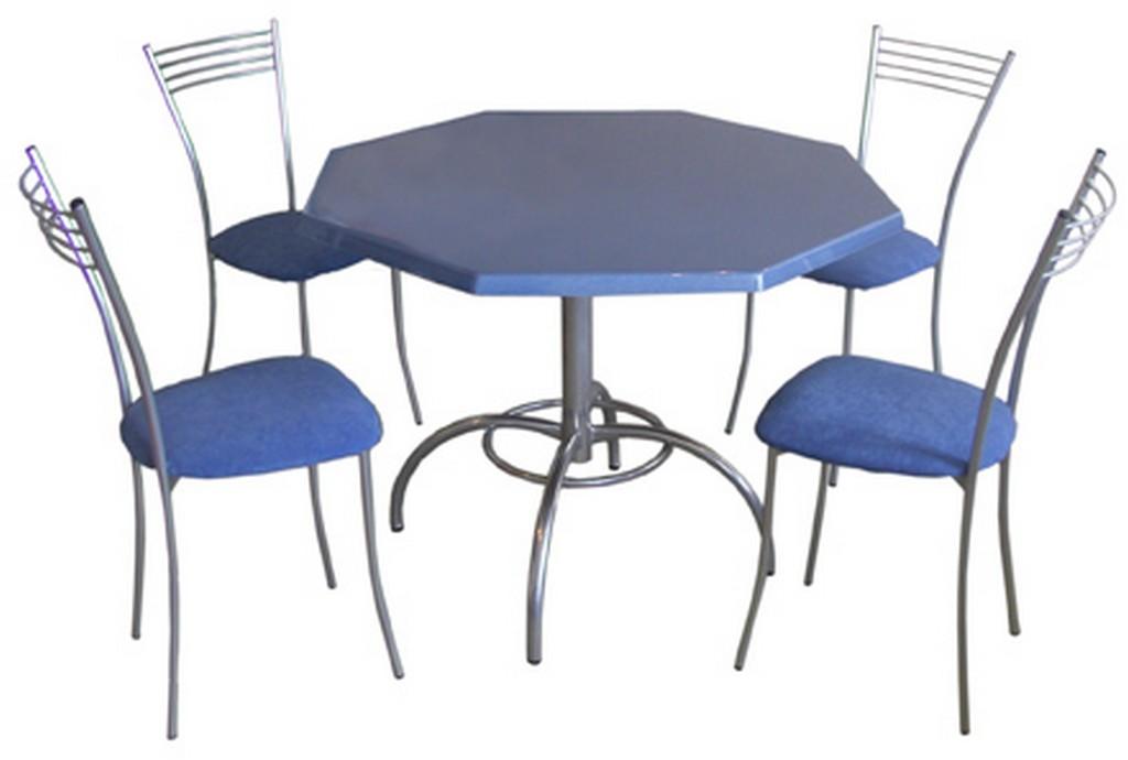 стол со столешницей восьмигранник