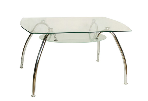стол стеклянный f-72